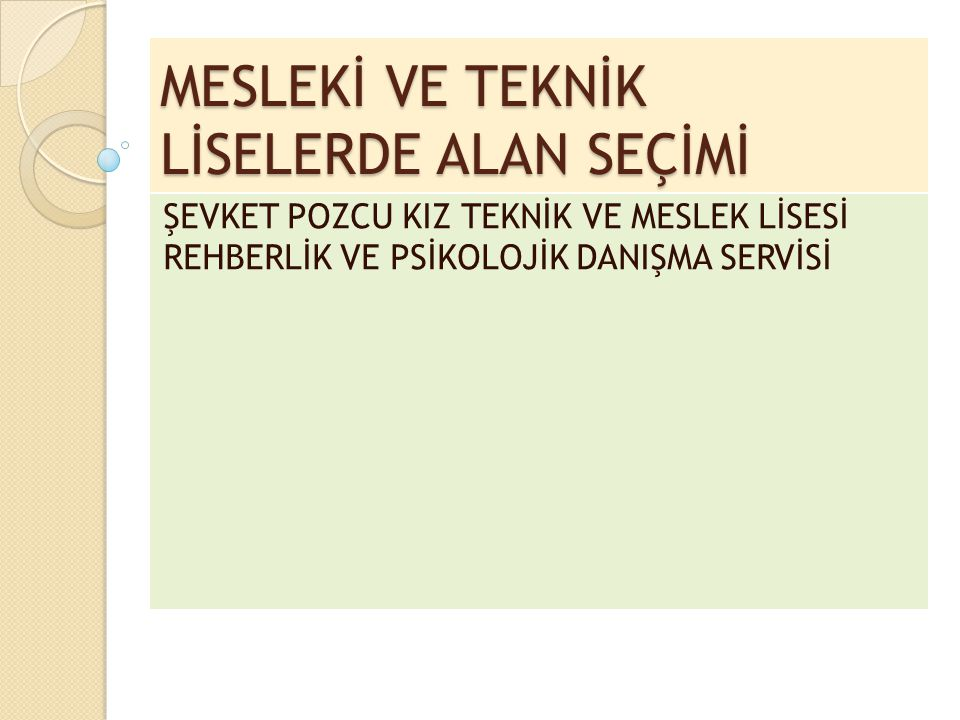 AKDENİZ KIZ TEKNİK VE MESLEK LİSESİ Atatürk Cad.