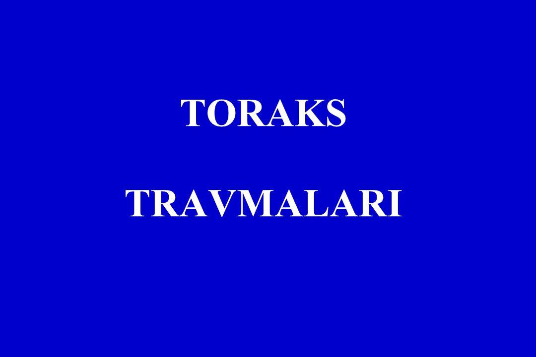 TORAKS TRAVMALARI