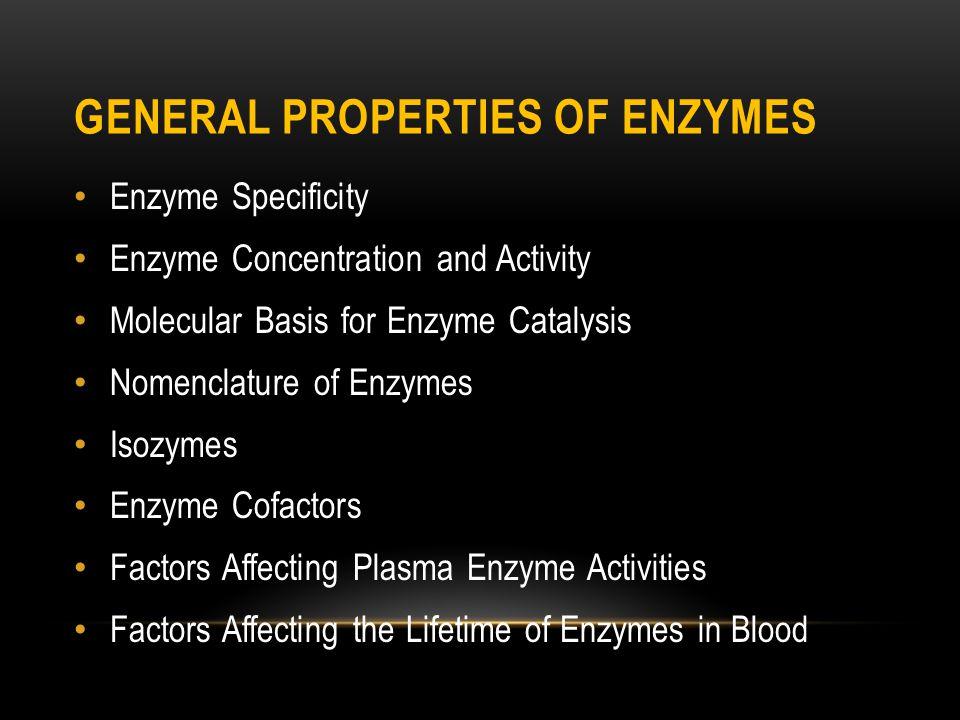 Enzimlerin hücrelerden serbest kalma hızının arttığı iki temel durum:  hücre harabiyeti (nekroz) ve  enflamasyondur.