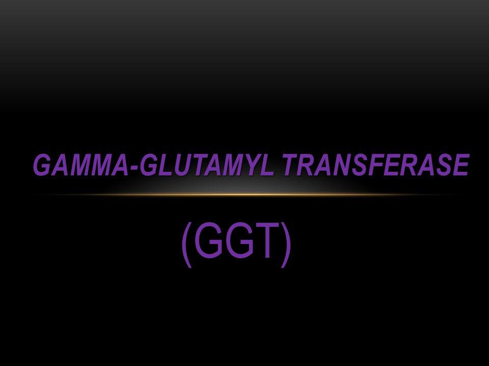 (GGT) GAMMA-GLUTAMYL TRANSFERASE