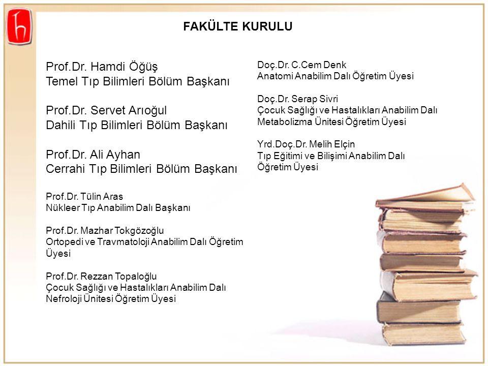 Hacettepe Üniversitesi Hastaneleri Çalışan Hekimleri Adına Prof.