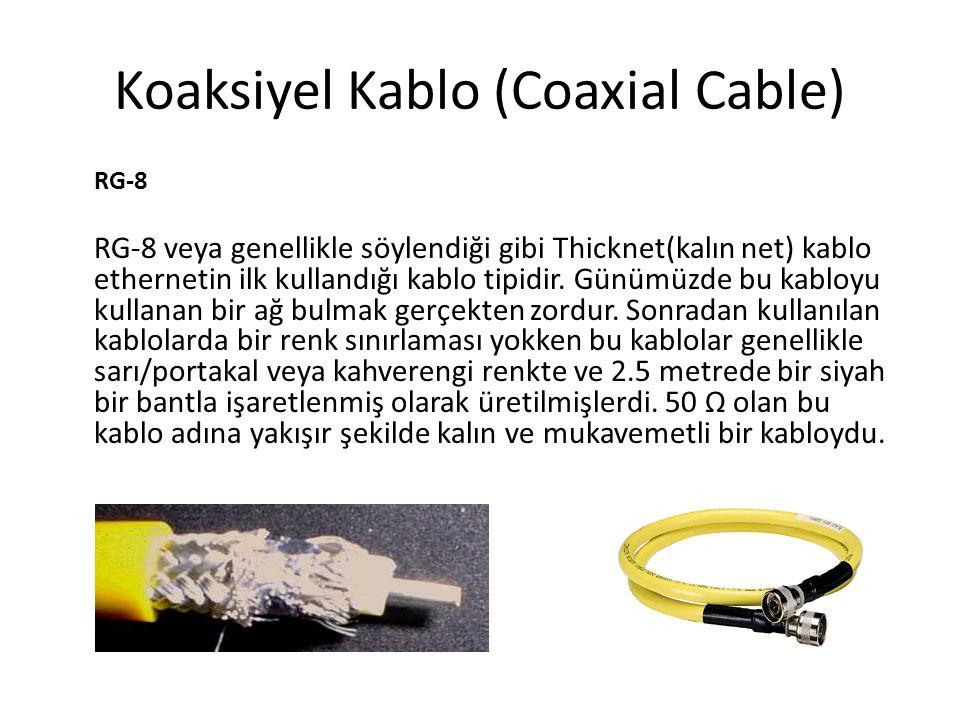 1- Kaplamalı Dolanmış Çift (Shielded Twisted Pair-STP) STP kablolar ilk kullanılmaya başlandığı dönemlerde (belkide koaksiyelden geçiş aşamasında?) STP kablo UTP ye göre daha güvenli kabul edilmiştir.