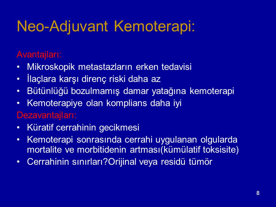 29 Surgery IIIA (N2) CTx : cisplatin 40-50 mg/m² d 1, 2 docetaxel85 mg/m² d 1 Evre IIIA KHDAK'inde Multimodal Yaklaşım - SWISS PREOP-Chemo trial - - SWISS PREOP-Chemo trial - CTx - 3 cycles CRPR MR MR Betticher et al, Lung Cancer 2005;49:s14 → q3w PORT 60G Incomplete resection
