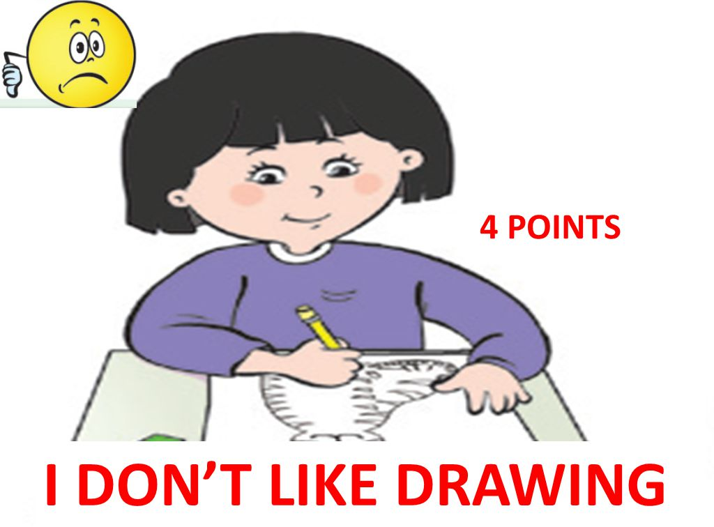 I DON'T LIKE DRAWING 4 POINTS