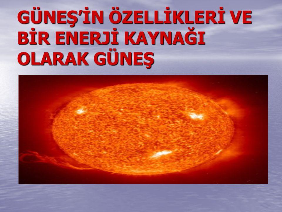 Güneş ve çevresinde bulunan gezegenlerden oluşan güneş sistemi dünya için, temel bir enerji kaynağıdır.Özellikle, dünyada yaşayan canlılar için vazgeçilmez bir kaynaktır.Bugün kullanılan çeşitli enerji kaynaklarının büyük kısmı, güneşin sebep olduğu olaylar sonucu ortaya çıkar.Günlük güneş enerjisi ile dünya aydınlatılabilmekte;yağışlar ile su döngüsü sağlanabilmekte ve en önemlisi de, fotosentez ile canlı yaşam sürdürülebilmektedir.Hayati önemdeki bu yıldızın endüstriyel manada da enerji üretimi mümkündür.