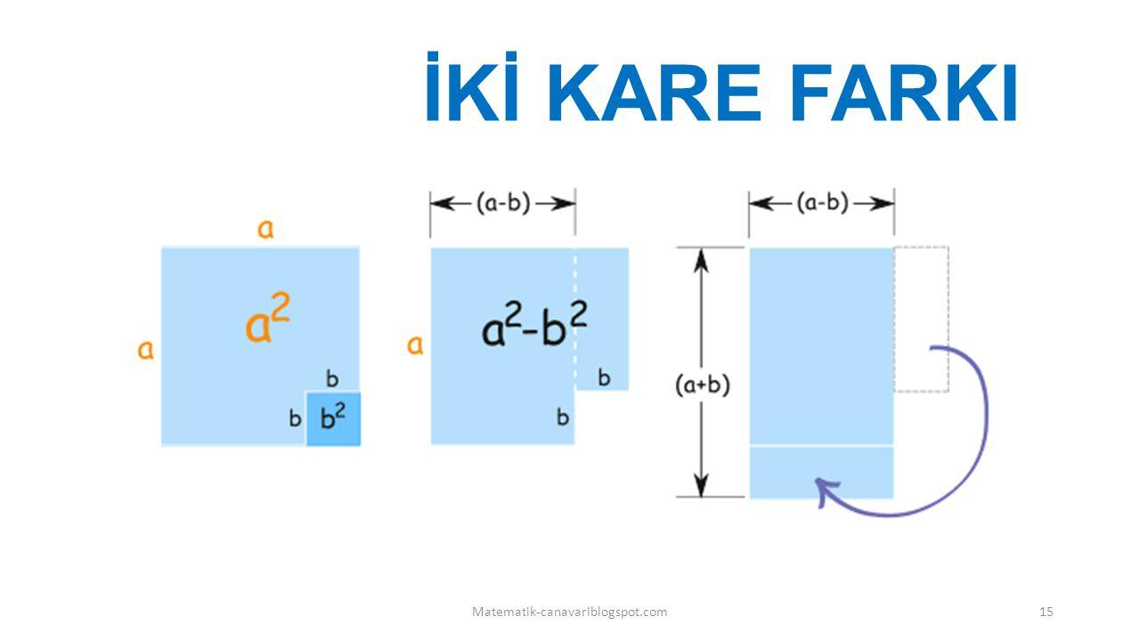 İKİ KARE FARKI Matematik-canavariblogspot.com15