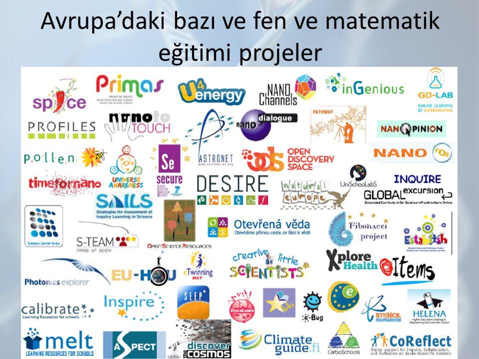 Avrupa'daki bazı ve fen ve matematik eğitimi projeler