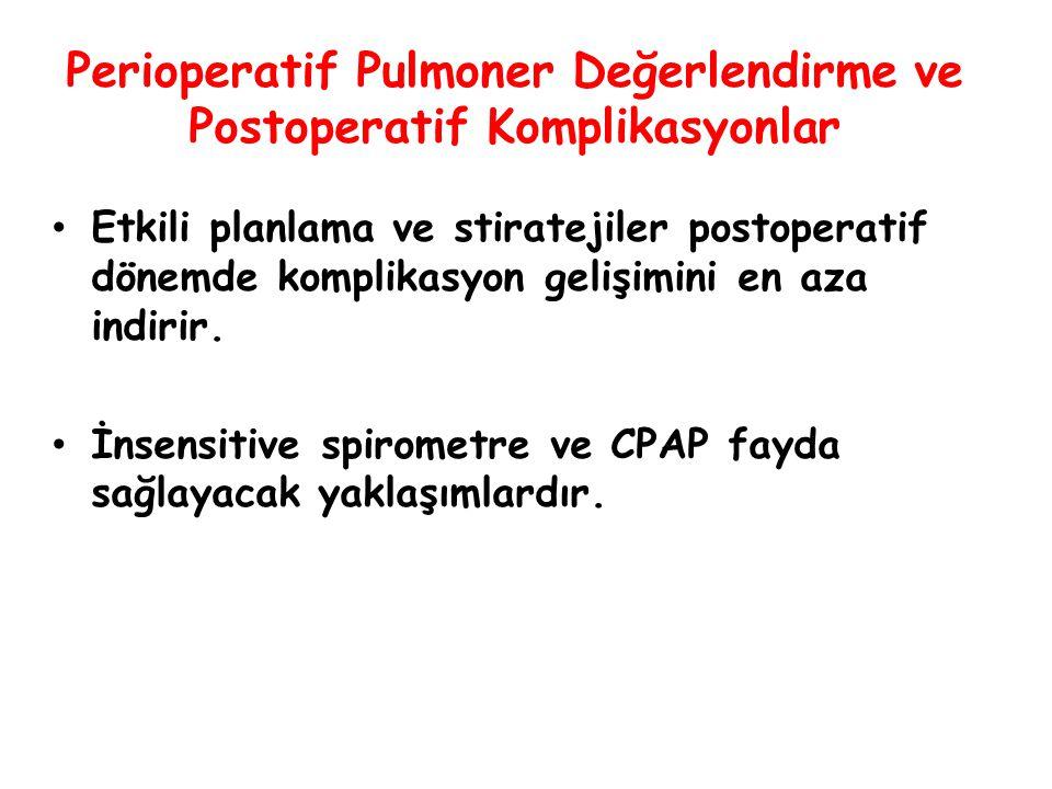 Perioperatif Pulmoner Değerlendirme ve Postoperatif Komplikasyonlar İnteraktif Sunu OLGU 1