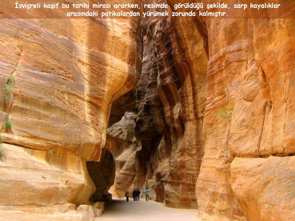 Ürdün çölünün ortasında bulunan bu harabe için, 600 sene boyunca Atlantis veya Truva gibi efsane olarak düşünüldü
