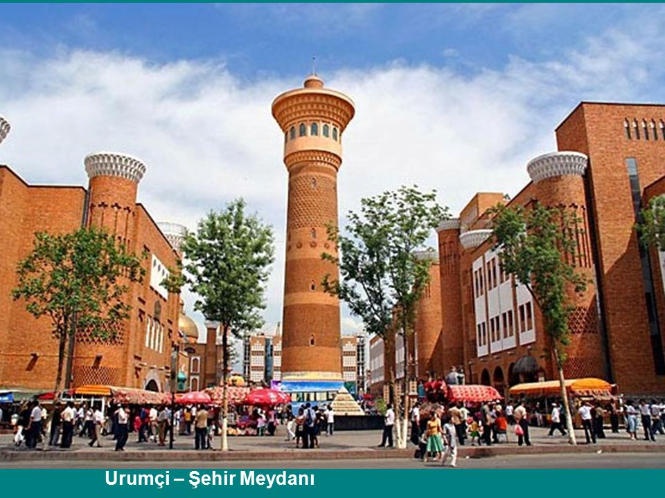 Urumçi – Şehir Meydanı