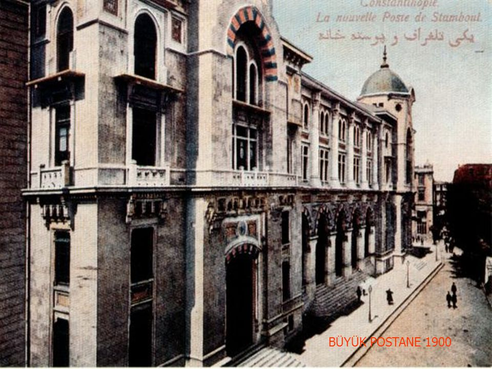 1900 YILLARINDA İSTANBUL ÖMER FARUK ALTUNTAŞ
