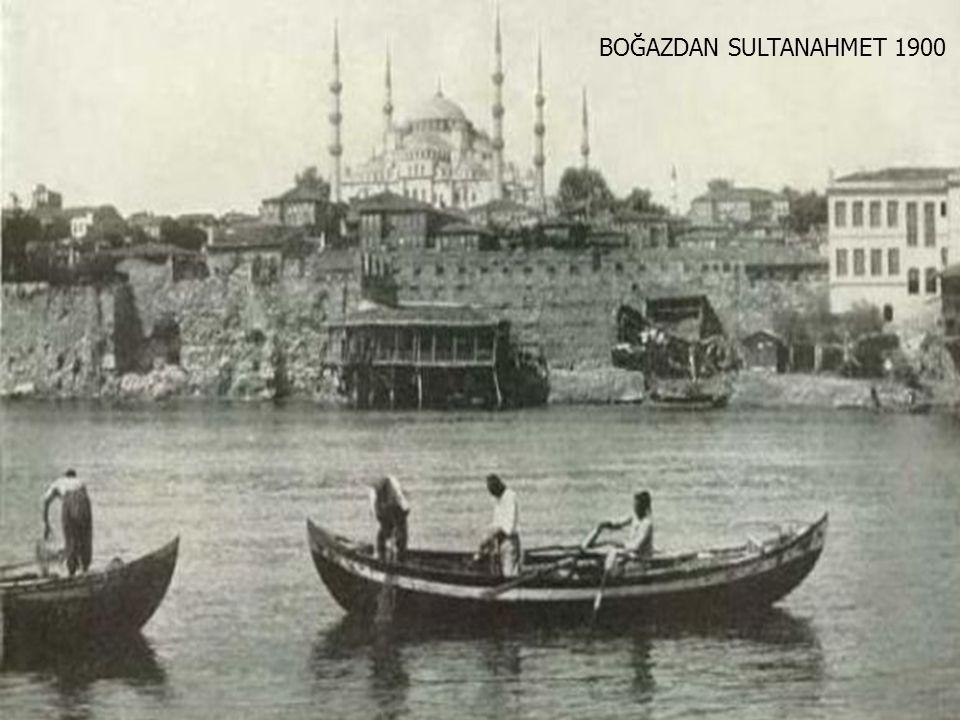 AHIRKAPI FENERİ 1900 YILINDA BİR GECE