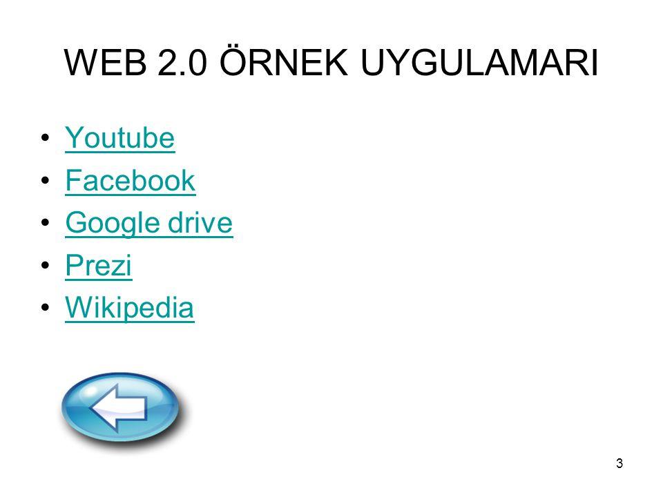 4 Web 2.0 nedir (devam) Web 2.0 ın bizlere kazandırdığı yeniliklerden biri de Etiket Bulutudur.