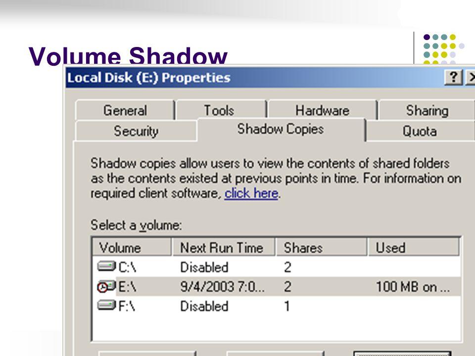 Volume Shadow