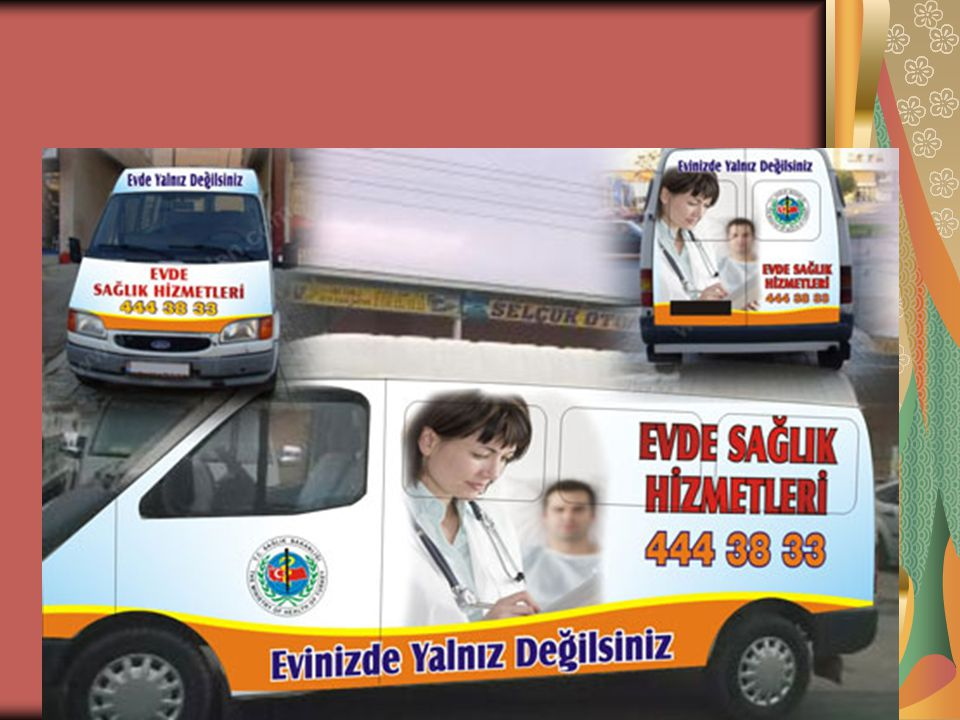 Ancak ACİL durumlardaki hasta nakli için 112 AMBULANS hizmetlerinden yararlanılır.