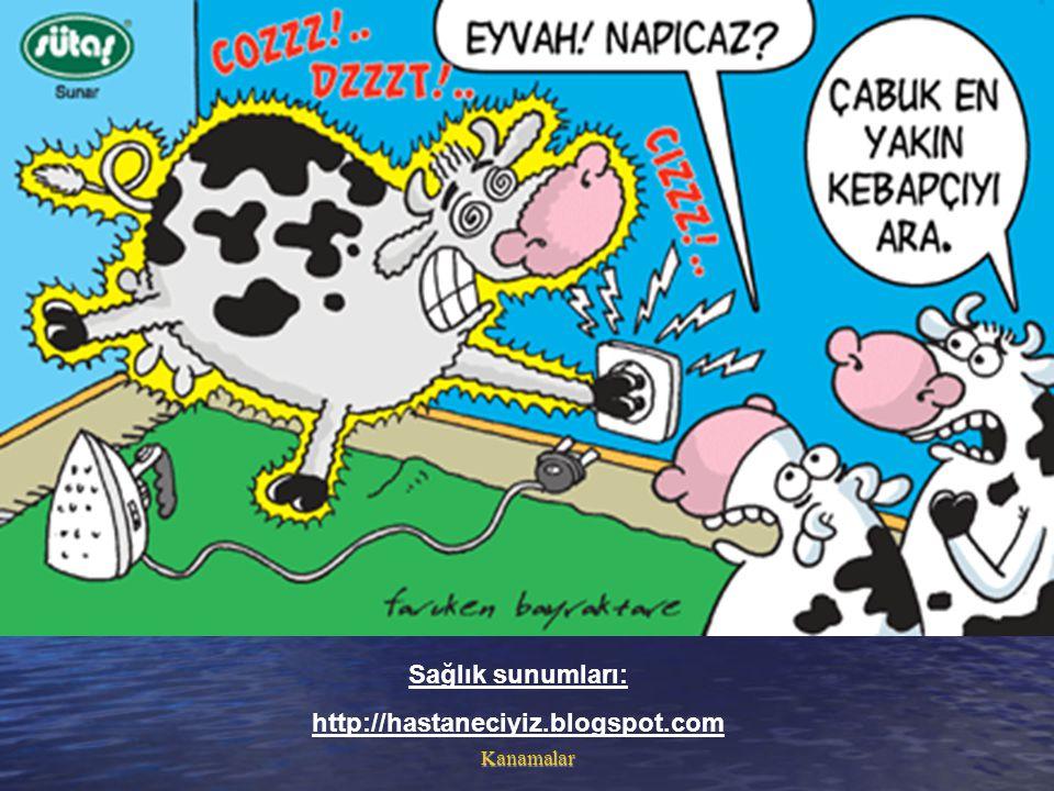 Kanamalar Sağlık sunumları: http://hastaneciyiz.blogspot.com