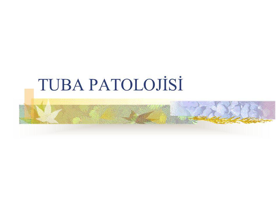 TUBA PATOLOJİSİ