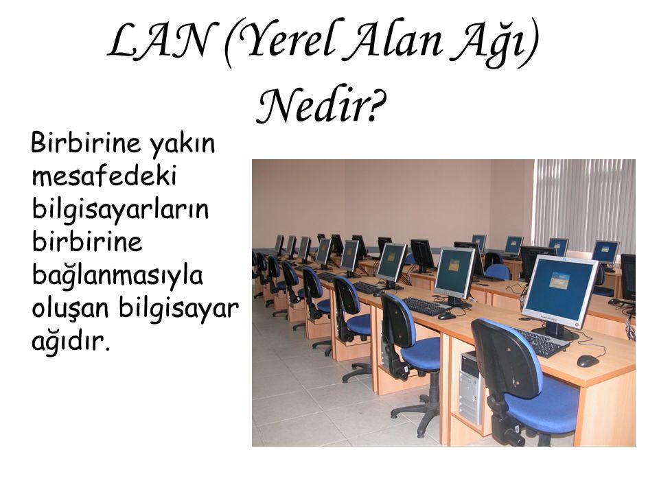 LAN (Yerel Alan Ağı) Nedir.