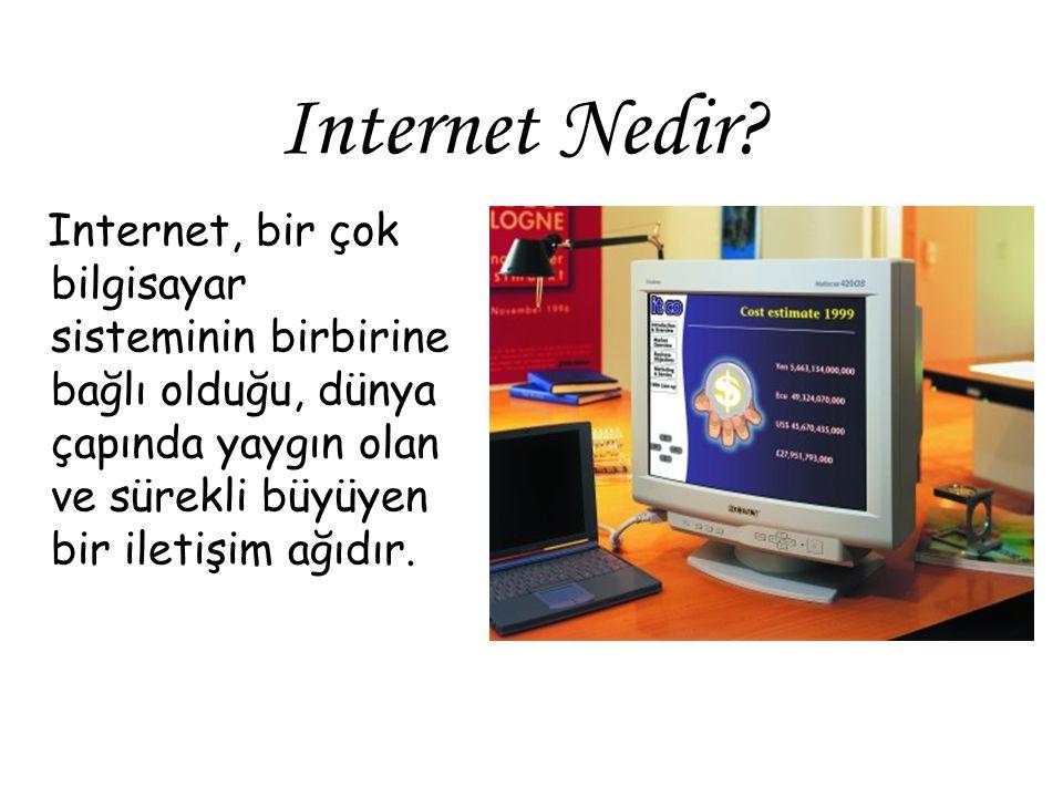 Domain Name (Alan Adı) = Bir internet sitesini tanımlayan adres. Örn; www.google.com.tr gibi.