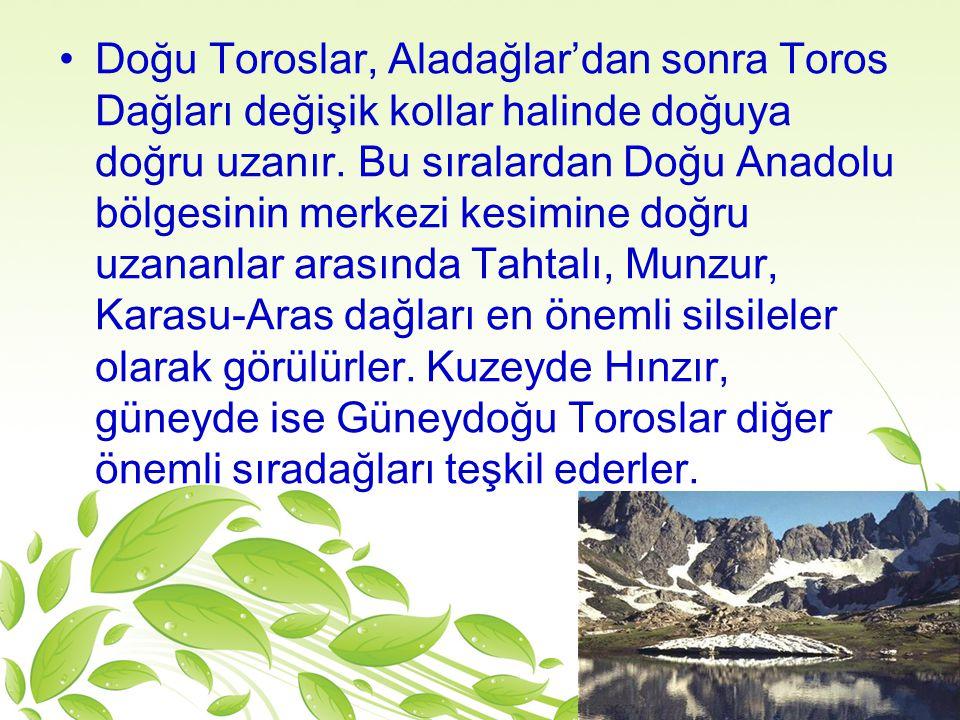 Aladağlar Yüksekliği 3756m.'dir.Niğde ilinin Çamardı ilçesi sınırları içinde yer alan Demirkazık zirvesi Niğde şehir merkezinin 40km.