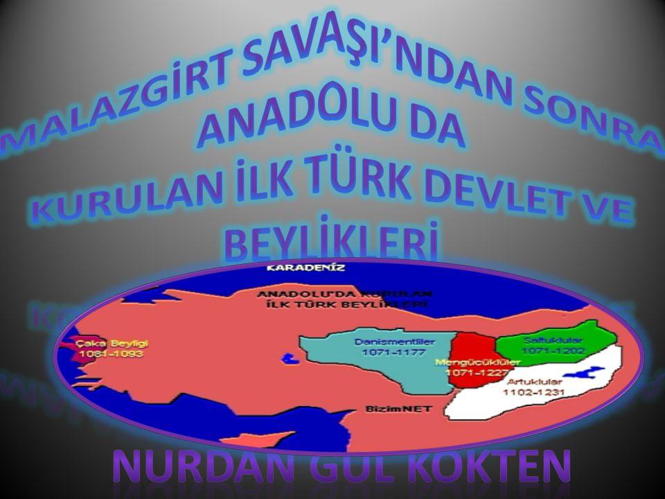 TÜRKLER' İ N ANADOLU'YU ANA YURT ED İ NMELER İ Nurdan Gül Kökten Türklerin Anadolu'ya doğru göç etmelerinin sebepleri neler olabilir