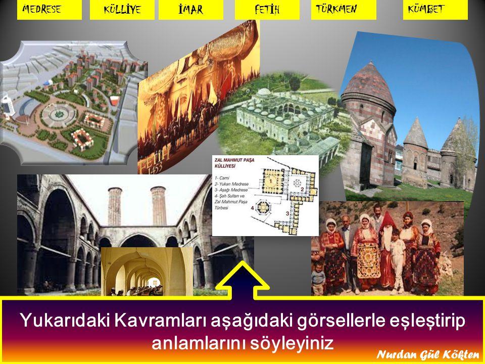 Haritada Anadolu'da kurulan ilk Türk Devletlerinin İsimlerini söyleyiniz Nurdan Gül Kökten