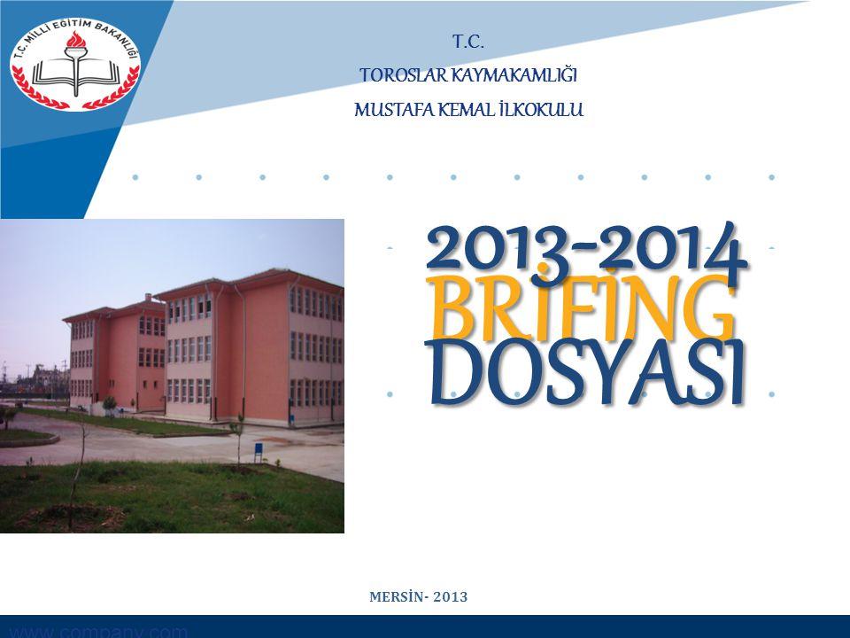 TOROSLAR İlçe Mili Eğitim Müdürlüğü MUSTAFA KEMAL İLKOKULU ÖĞRETMEN SAYILARI 2012-2013 EĞİTİM ÖĞRETİM YILI BRANŞLARNorm KadroMevcutİhtiyaç SINIF ÖĞRETMENİ 12 - ANASINIFI ÖĞRETMENİ 330 ÖZEL EĞİTİM ÖĞRETMENİ 220 TOPLAM 17 0 MUSTAFA KEMAL ORTAOKULU Müdürlüğü Brifing 2012-2013 - 12 -