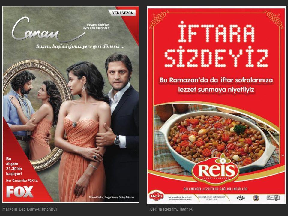 Markom Leo Burnet, İstanbul Gerilla Reklam, İstanbul