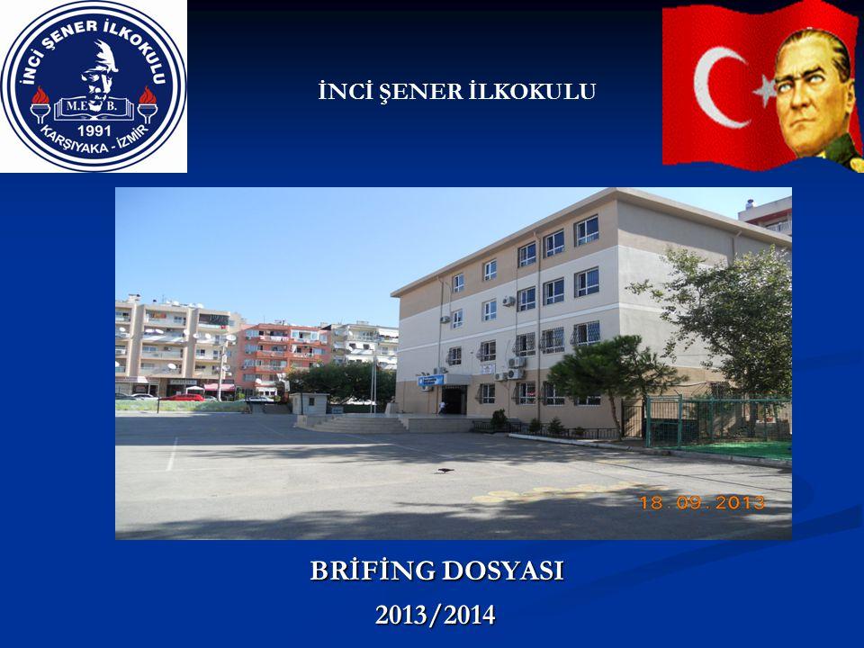 BRİFİNG DOSYASI BRİFİNG DOSYASI 2013/2014 2013/2014 İNCİ ŞENER İLKOKULU