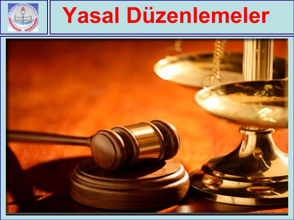 Yasal Düzenlemeler