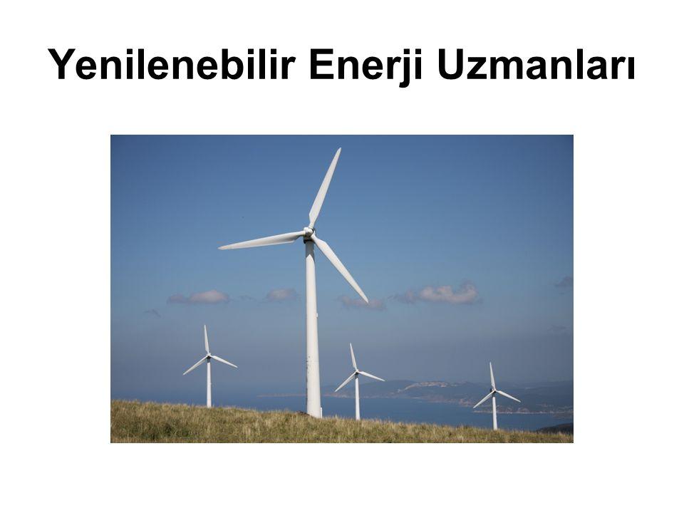 Yenilenebilir Enerji Uzmanları