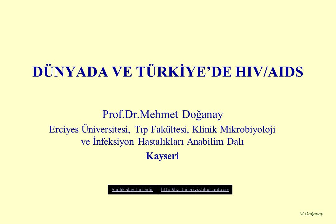 M.Doğanay Proteaz inhibitörleri Indinavir (crixivan) Ritonavir (Norvir) Nelfinavir (Viracept) Saquinavir (Invirase, Fortovase) Amprenavir ( Agenerase)