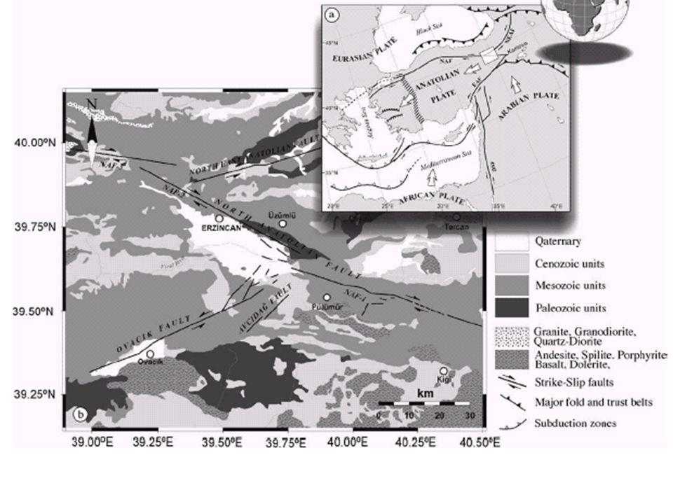 KD-GB uzanımlı ve Sol yanal atımlı 350 km uzunluğunda Kuzeyden-güneye doğru 3 fay zonundan oluşur Kelkit Dumlu-Çobandede Kağızman