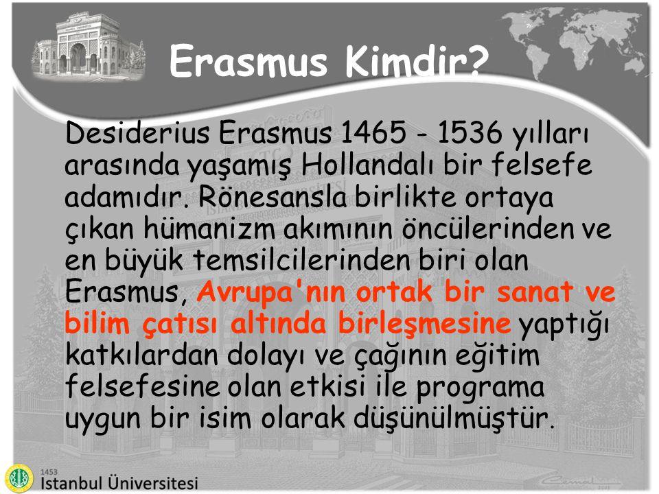 Erasmus Nedir ?.
