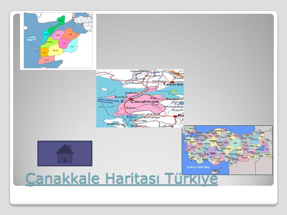 Çanakkale Haritası Türkiye Çanakkale Haritası Türkiye