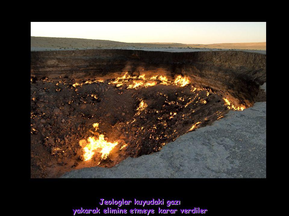 Ruslar olayı önemsemediler, Sandılar ki yaktıkları gaz birkaç haftada bitecek ve sona erecek.