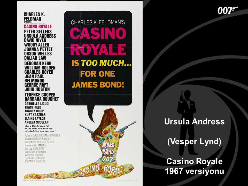 Ursula Andress (Vesper Lynd) Casino Royale 1967 versiyonu