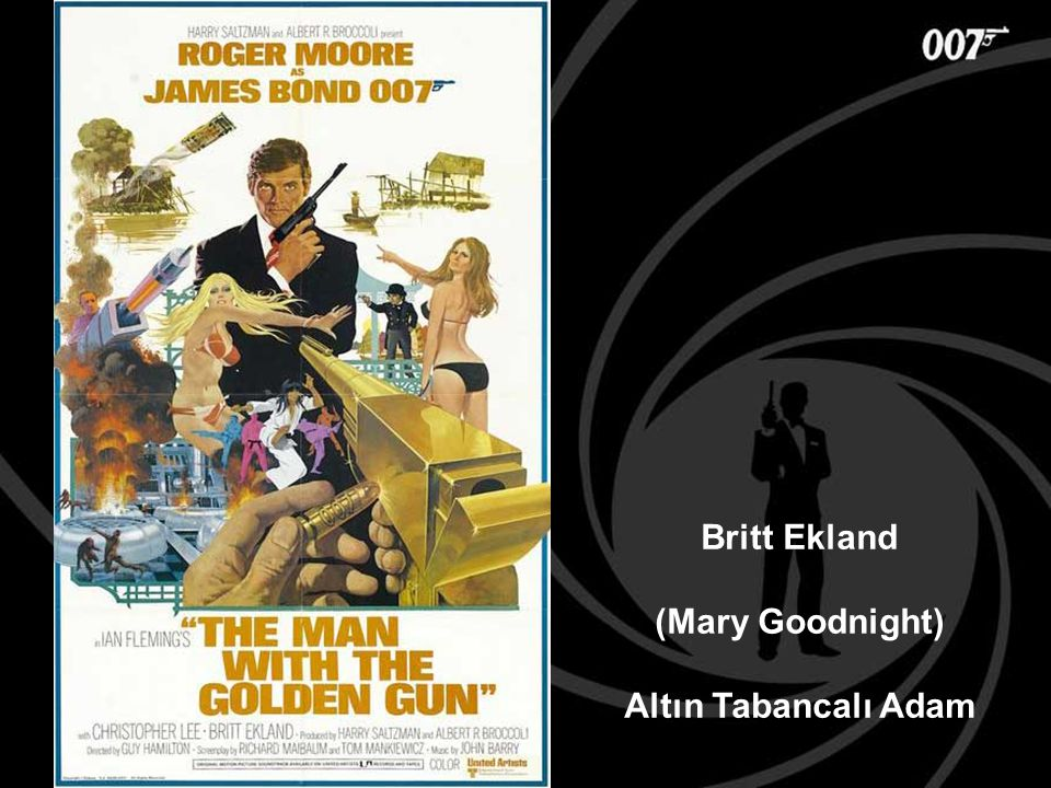 Britt Ekland (Mary Goodnight) Altın Tabancalı Adam