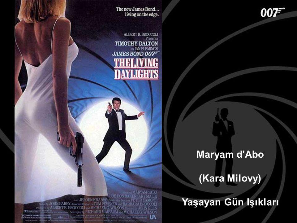Maryam d'Abo (Kara Milovy) Yaşayan Gün Işıkları