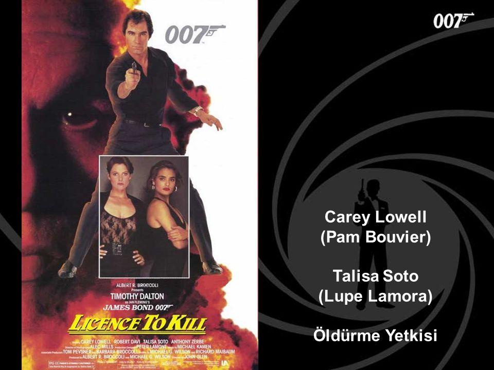 Carey Lowell (Pam Bouvier) Talisa Soto (Lupe Lamora) Öldürme Yetkisi