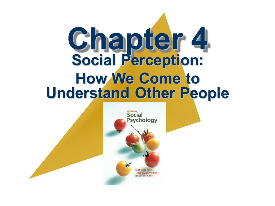 Chapter Outline V. How Accurate Are Our Attributions and Impressions?