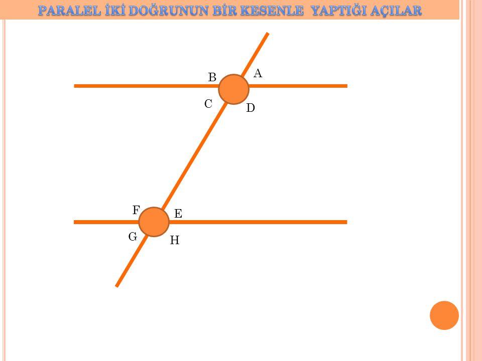 ÇÖZÜM 130+s(CBF)=180 s(CBF)=50 a=70+50(iç ters açı) a=120