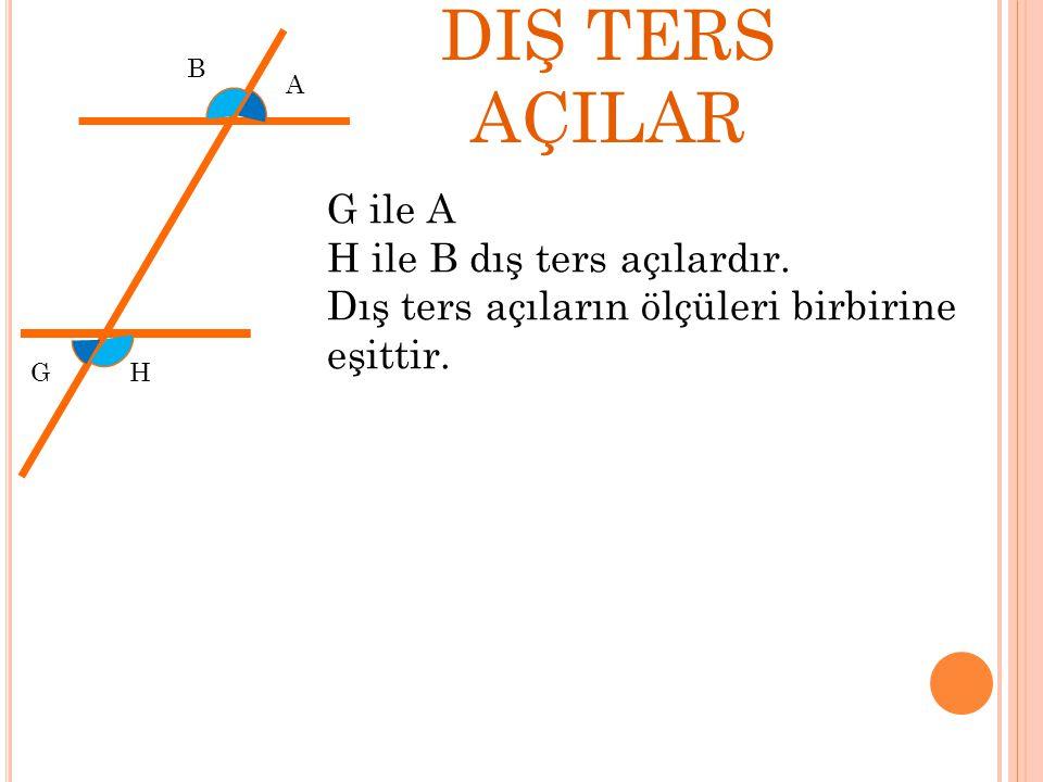 Sorular 50 A B C DE k l k // l s(ABD)=50 S(ACB)=?