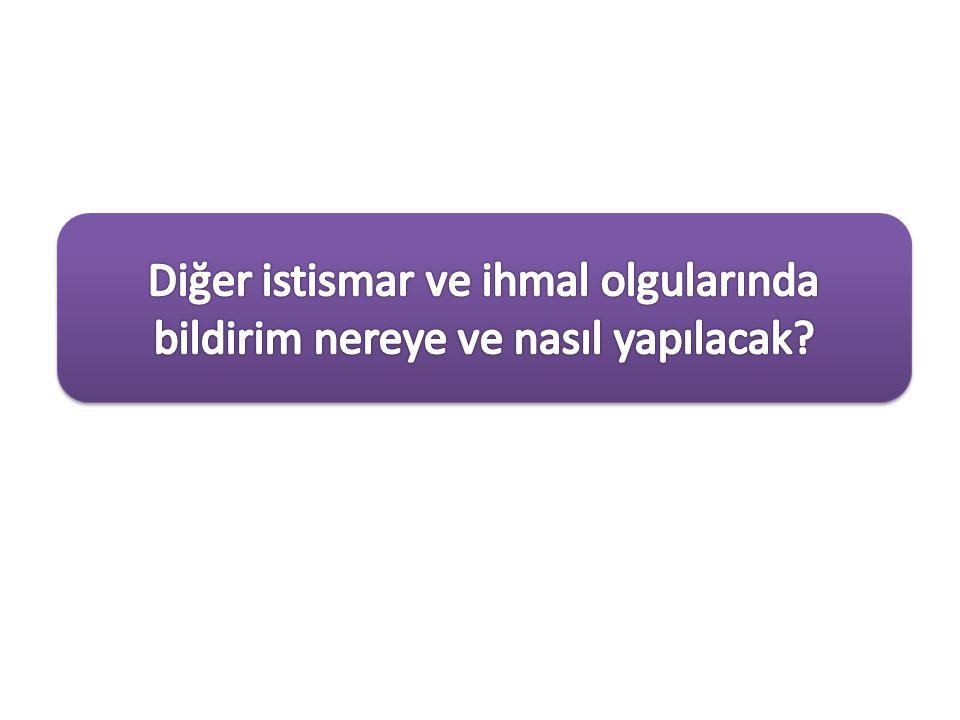 Çocuğa karşı kötü muamelenin cinsel istismar dışındaki diğer tipleri de Türk Ceza Kanununda suç olarak kabul edilmiştir.