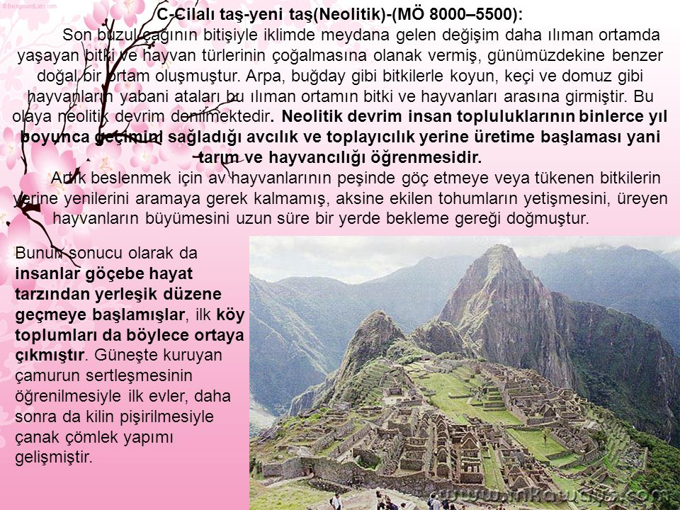Bu dönem yerleşmeleri daha çok Anadolu'nun güney yörelerinde yoğunlaşmışlardır.