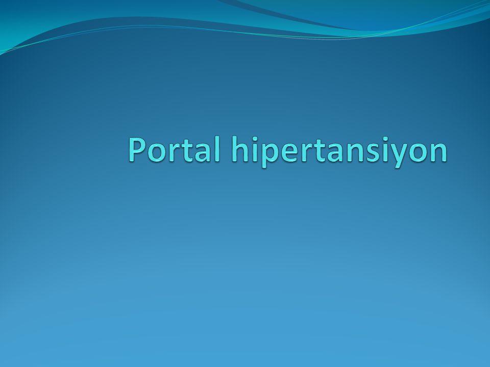 SINUSOIDAL PORTAL HYPERTENSION Siroz Portal ven 2B.