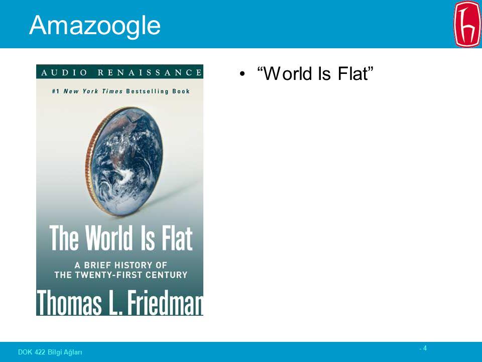- 4 DOK 422 Bilgi Ağları Amazoogle World Is Flat