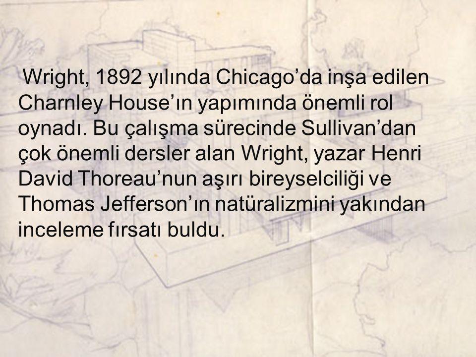 COONLEY EVİ RIVERSIDE 1908