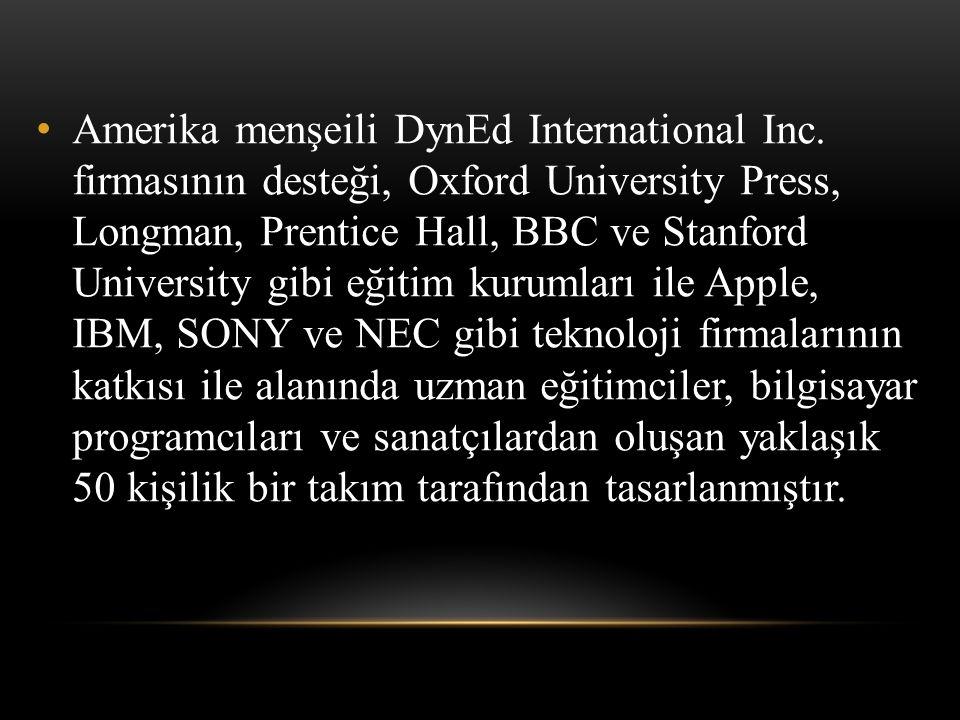 Amerika menşeili DynEd International Inc.