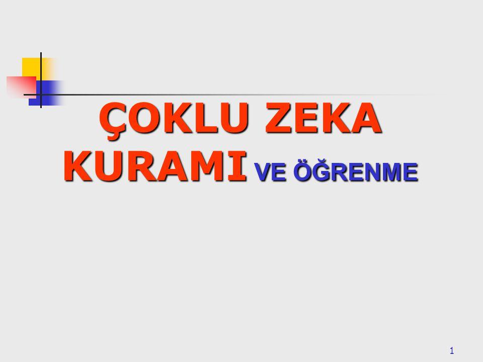 2 NEDEN ÇOKLU ZEKA.
